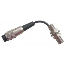M12 Proximity Sensor With Plug